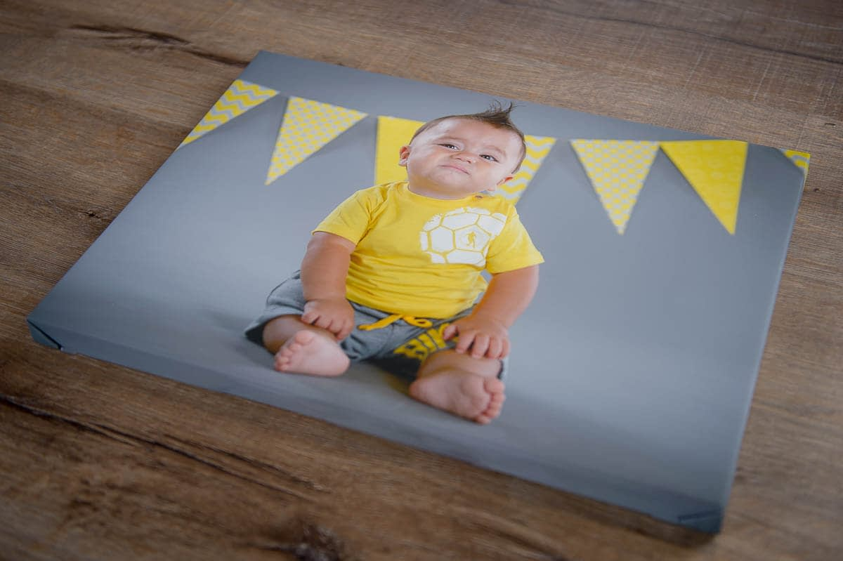 stampa su tela foto bambino
