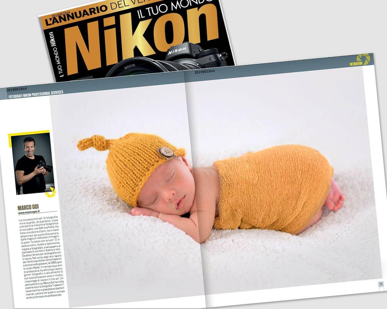 articolo marco goi su annuario Nikon