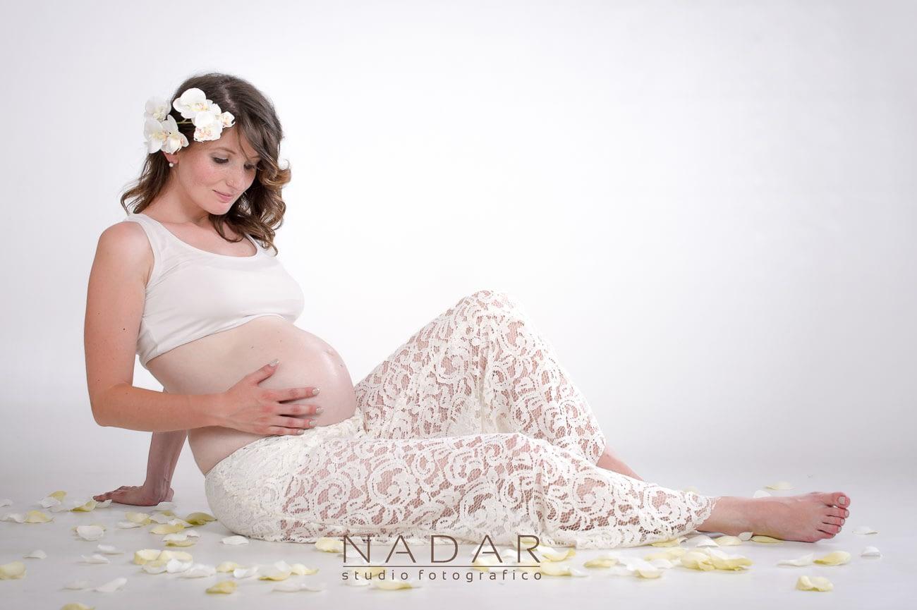 fotografia di donna incinta