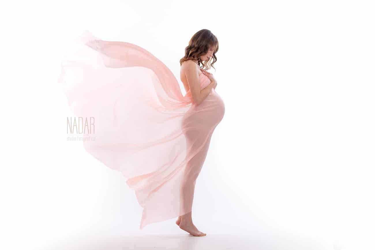 fotografia donna in gravidanza