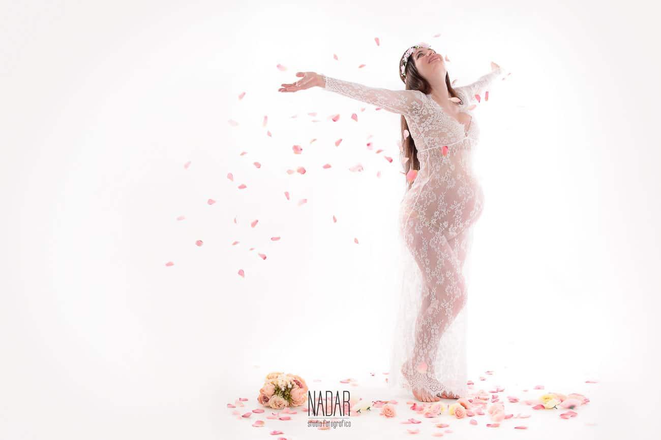 fotografia artistica di gravidanza