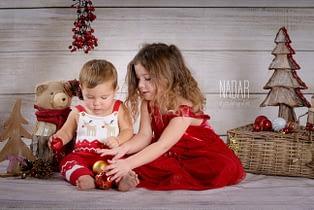 servizio fotografico bambini natale