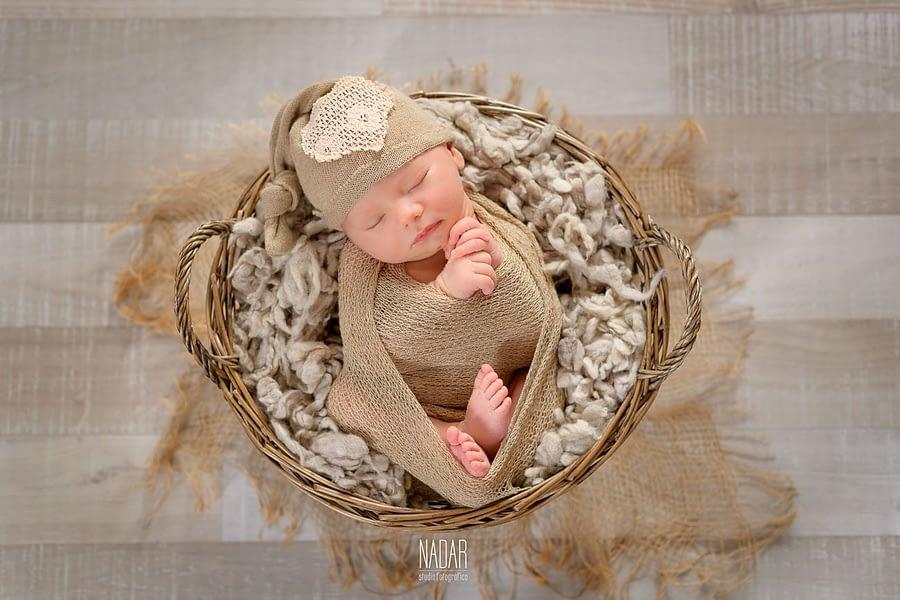 sert fotografico neonato che dorme